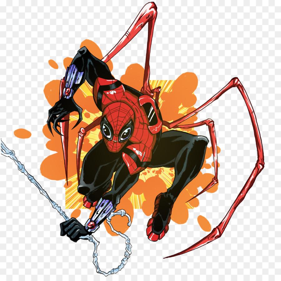 Spider Man Spider Verse Venom Dr Otto Octavius Mac Gargan   spiderman 900x900