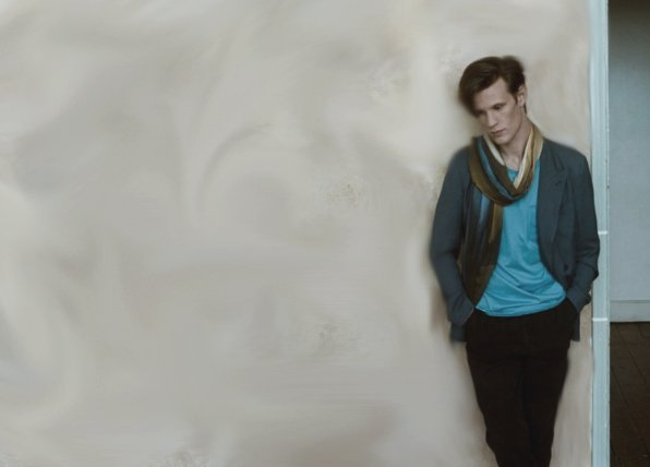 Matt Smith Wallpaper by izbizboo95 596x428