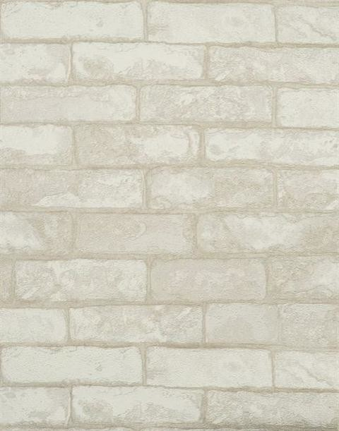 Textured White Brick Wallpaper White Sample   Rustic   Wallpaper 480x611