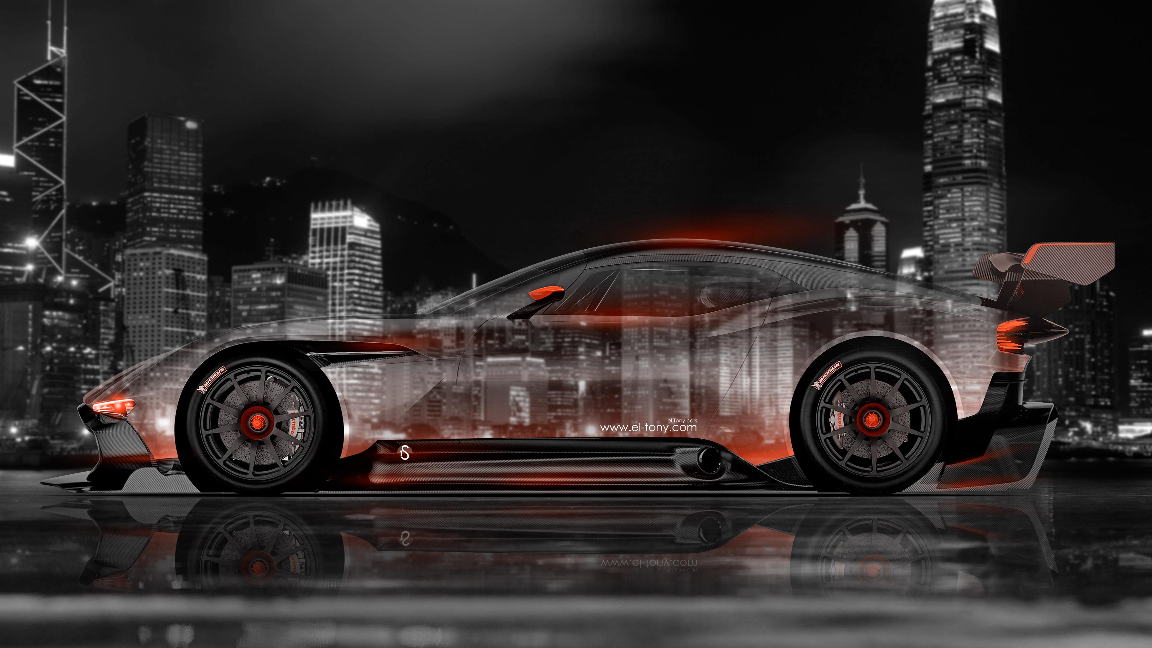 Aston Martin Vulcan Side Crystal City Car 2015 el Tony 3840x2160