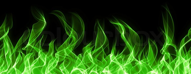 green fire wallpaper - photo #15