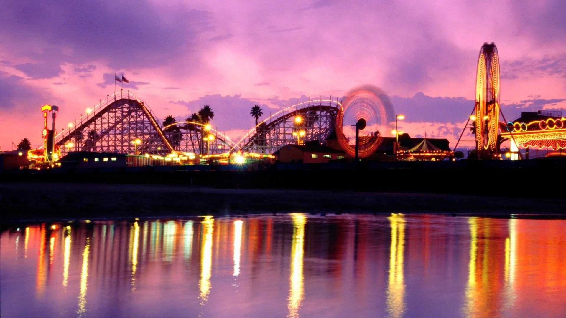 6 Theme Park HD Wallpapers Background Images 1920x1080