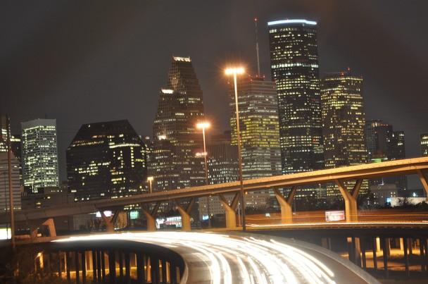 Downtown Houston Skyline   National Geographic Photo Contest 2011 608x403