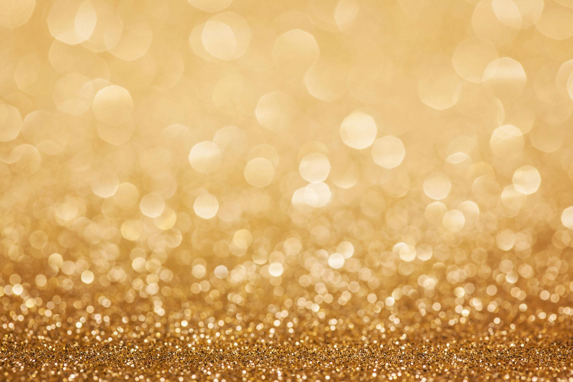 gold glitter chevron