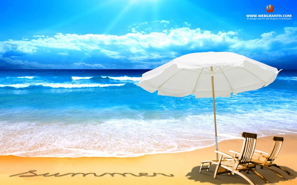 beach summer desktop wallpaper 980612 wallpapers55com   Best 980x612