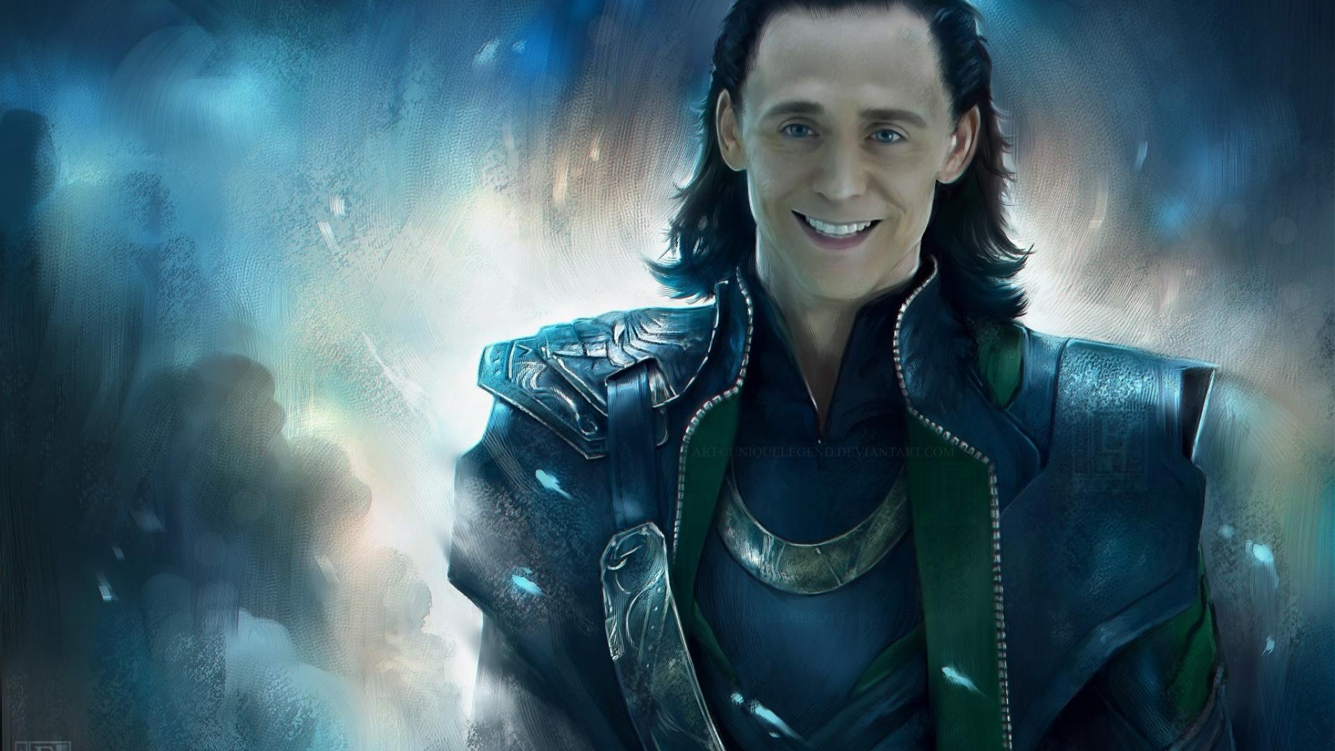 Loki marvel tom hiddleston the avengers movie wallpaper 6888 1920x1080