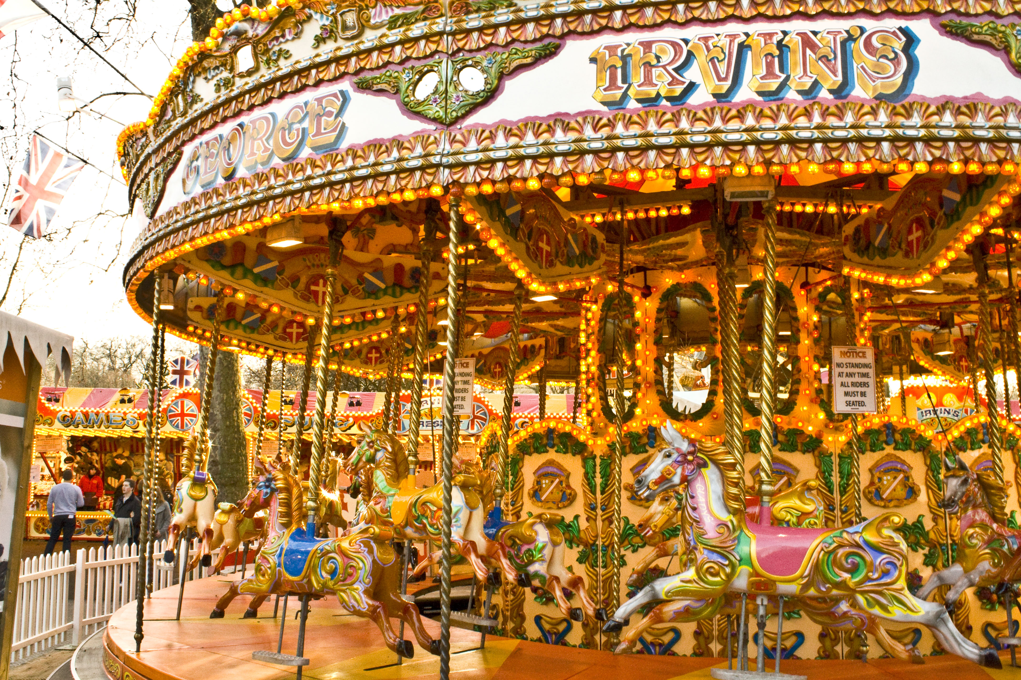 Carousel Wallpapers High Quality Download 3888x2592