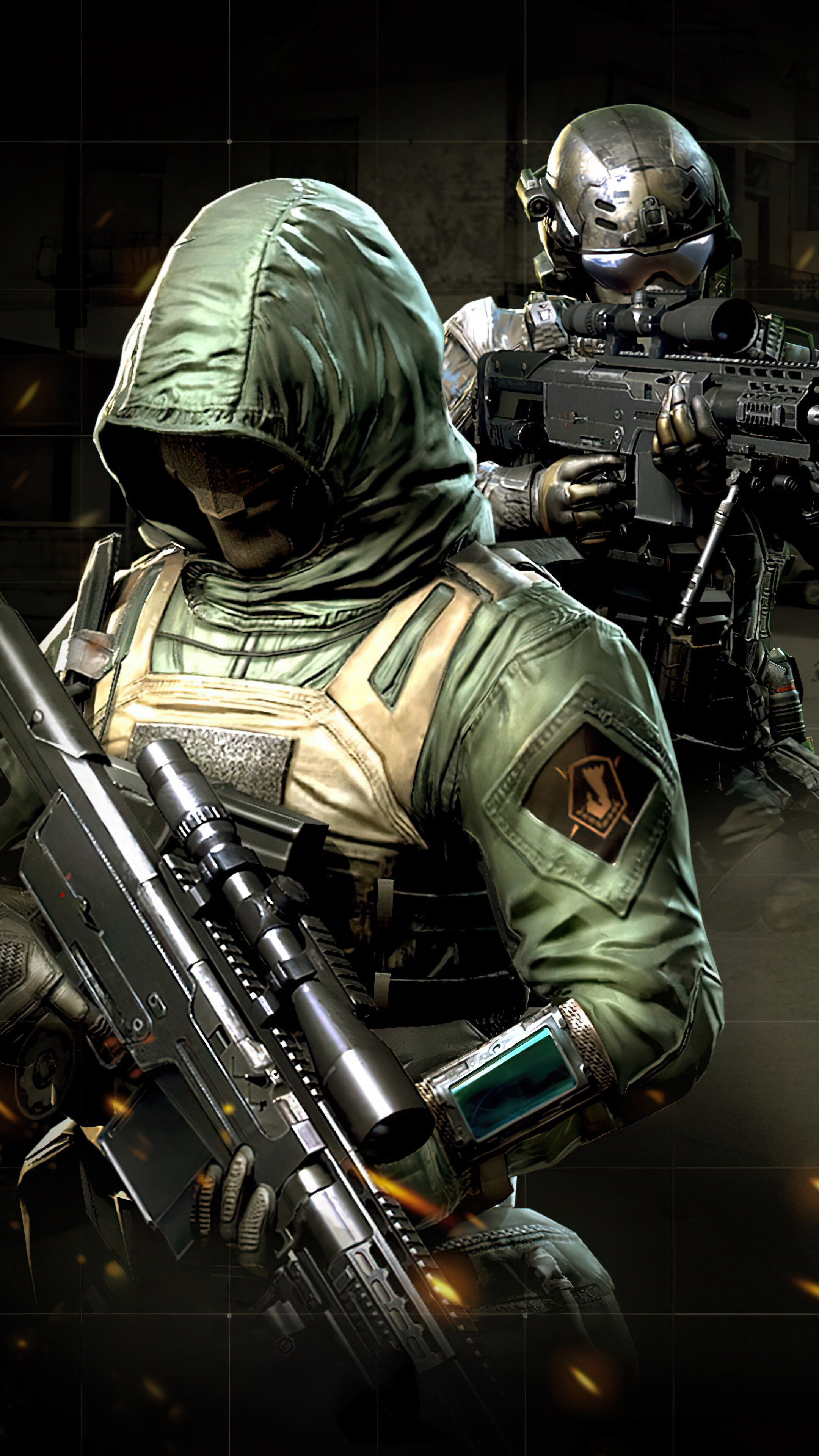 323047 Call of Duty Mobile Merc 5 Soldiers 4K Iphone 1076s6 2160x3840