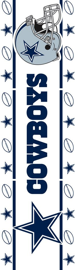 Dallas Cowboys NFL Football Wall Border   Wall Sticker Outlet 263x945