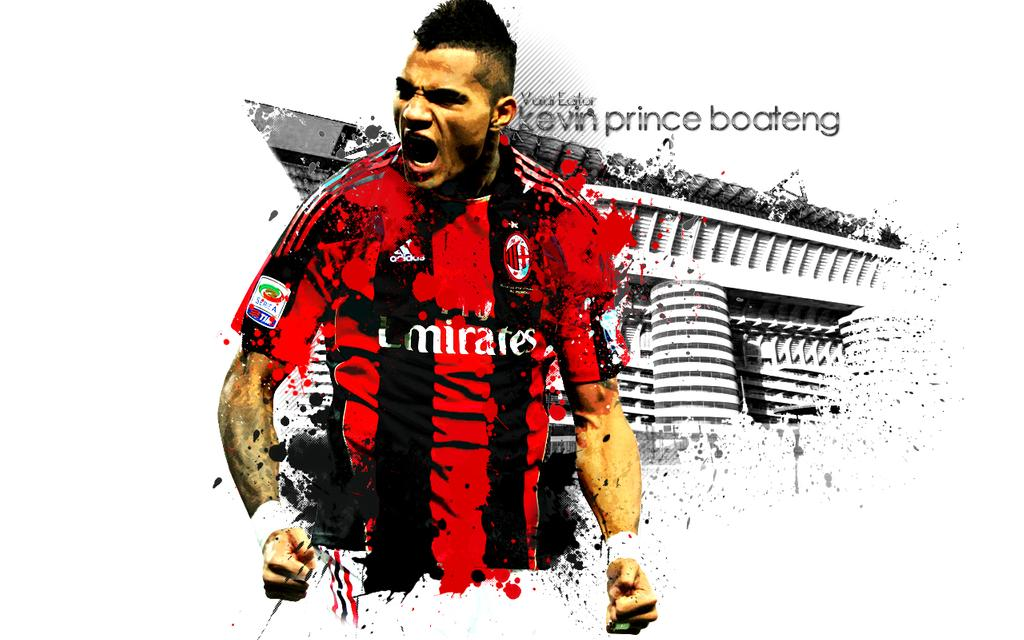Kevin Prince Boateng Desktop Wallpaper by ValdiMilanisti 1024x640