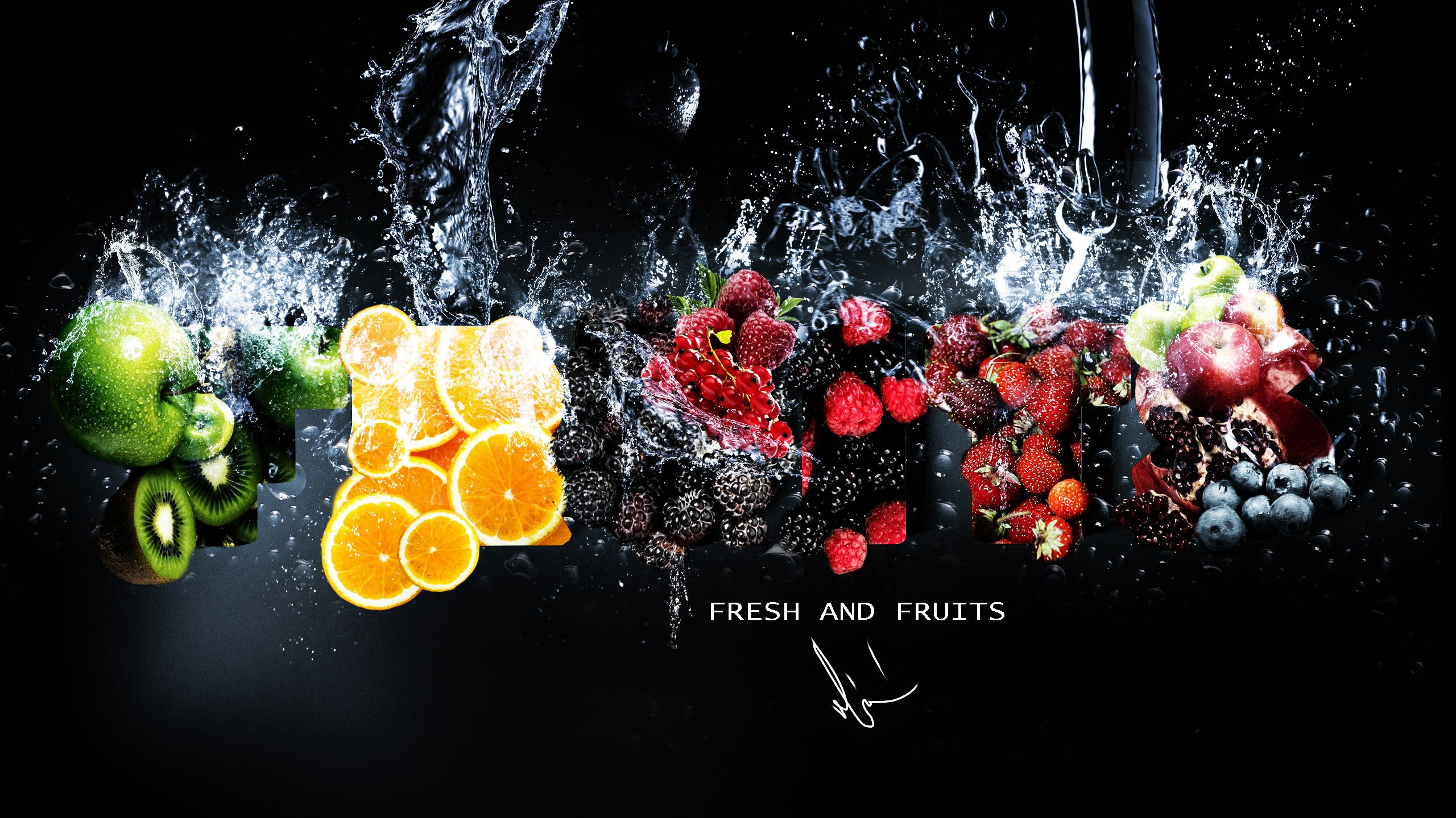 Fresh Fruits Wallpapers HD Wallpapers 2560x1440