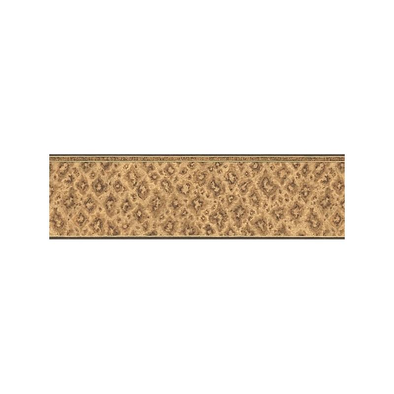 cheetah print border   Wallpaper Magazine design interiors 800x800