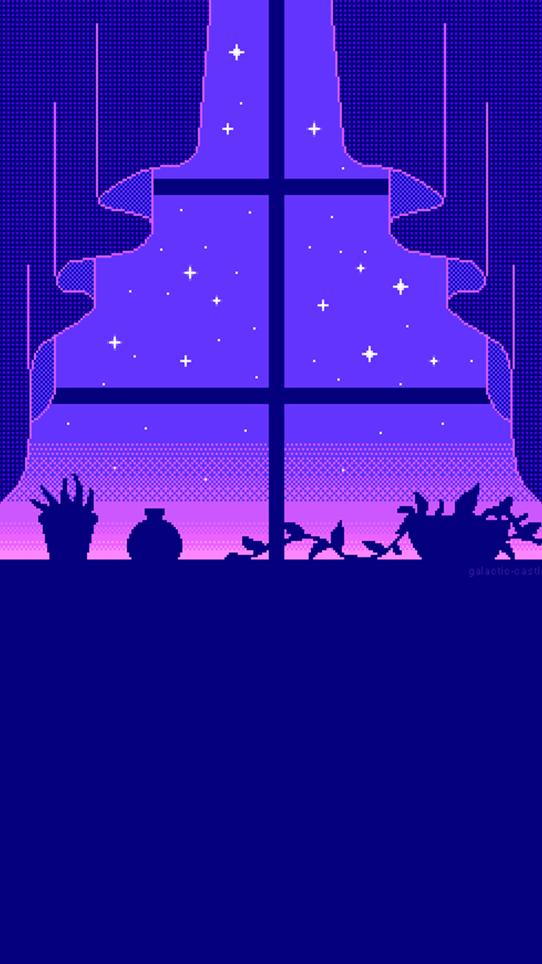 Pin by Tausha Walsh on Galaxy in 2019 Pixel art background 1080x1920