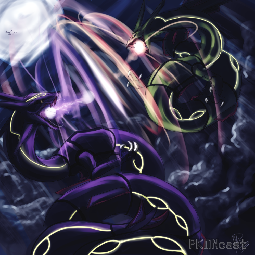 Free download Wallpapers For Shiny Rayquaza Wallpaper [1000x1000