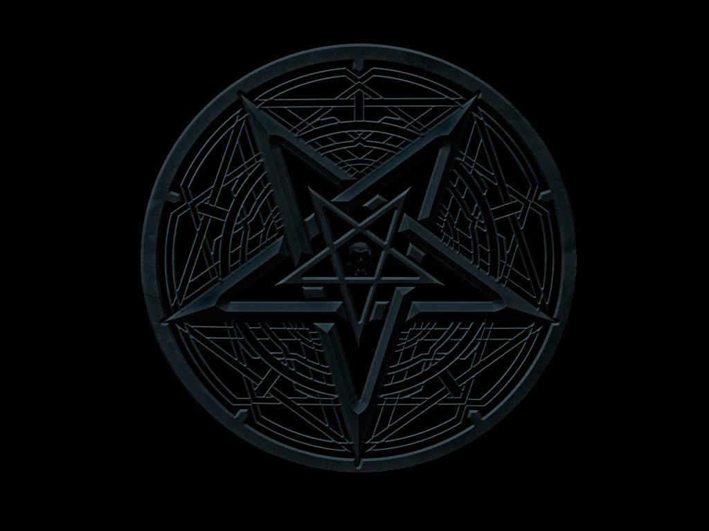 Pentagram Wallpaper Dimmu   pentagram by 1024x768