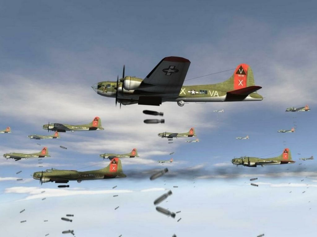 Flying Fortress Posters Buy a Poster 1024x768