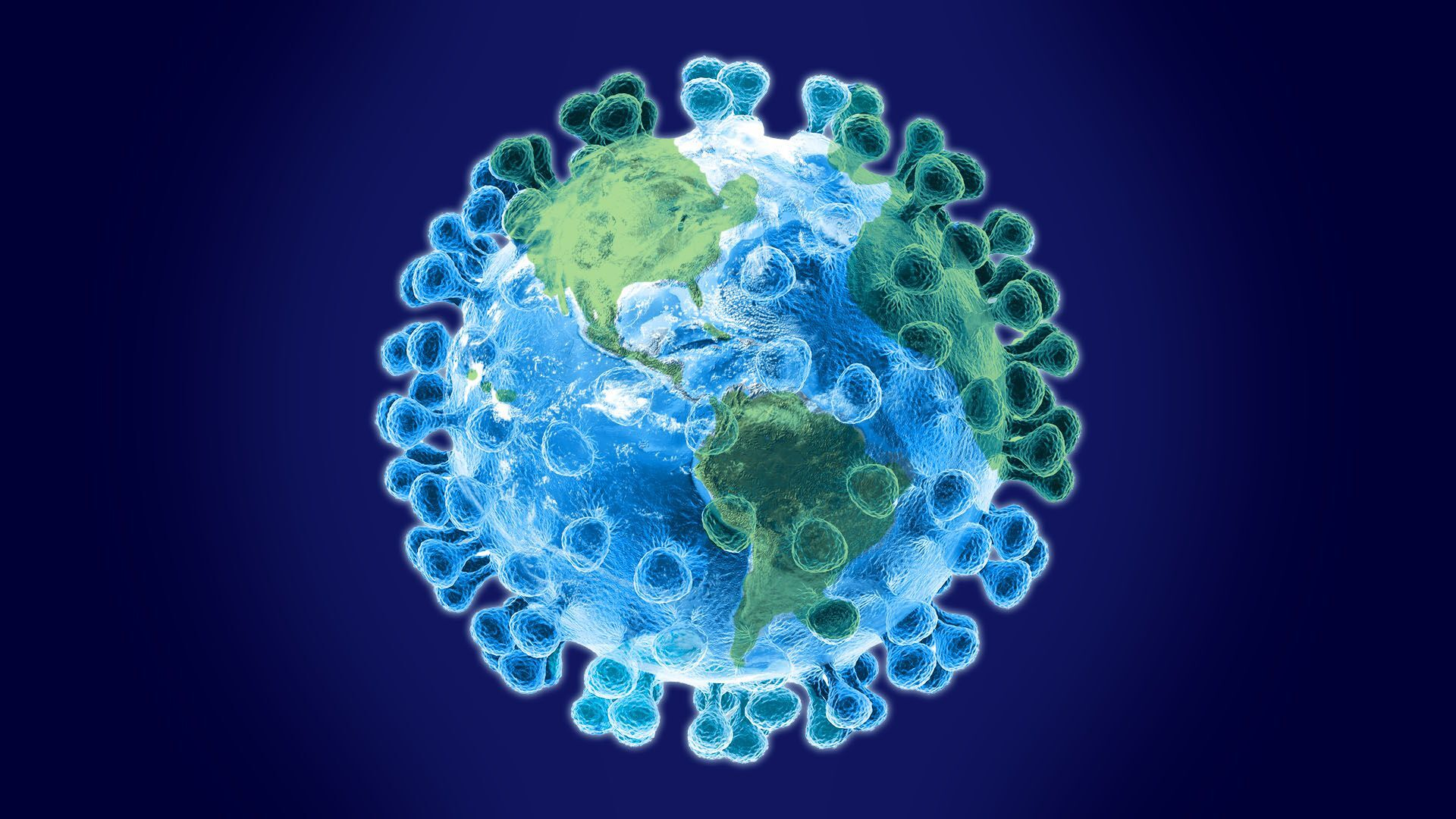 Earth Planet   Global pandemic Coronavirus HD wallpaper 1920x1080