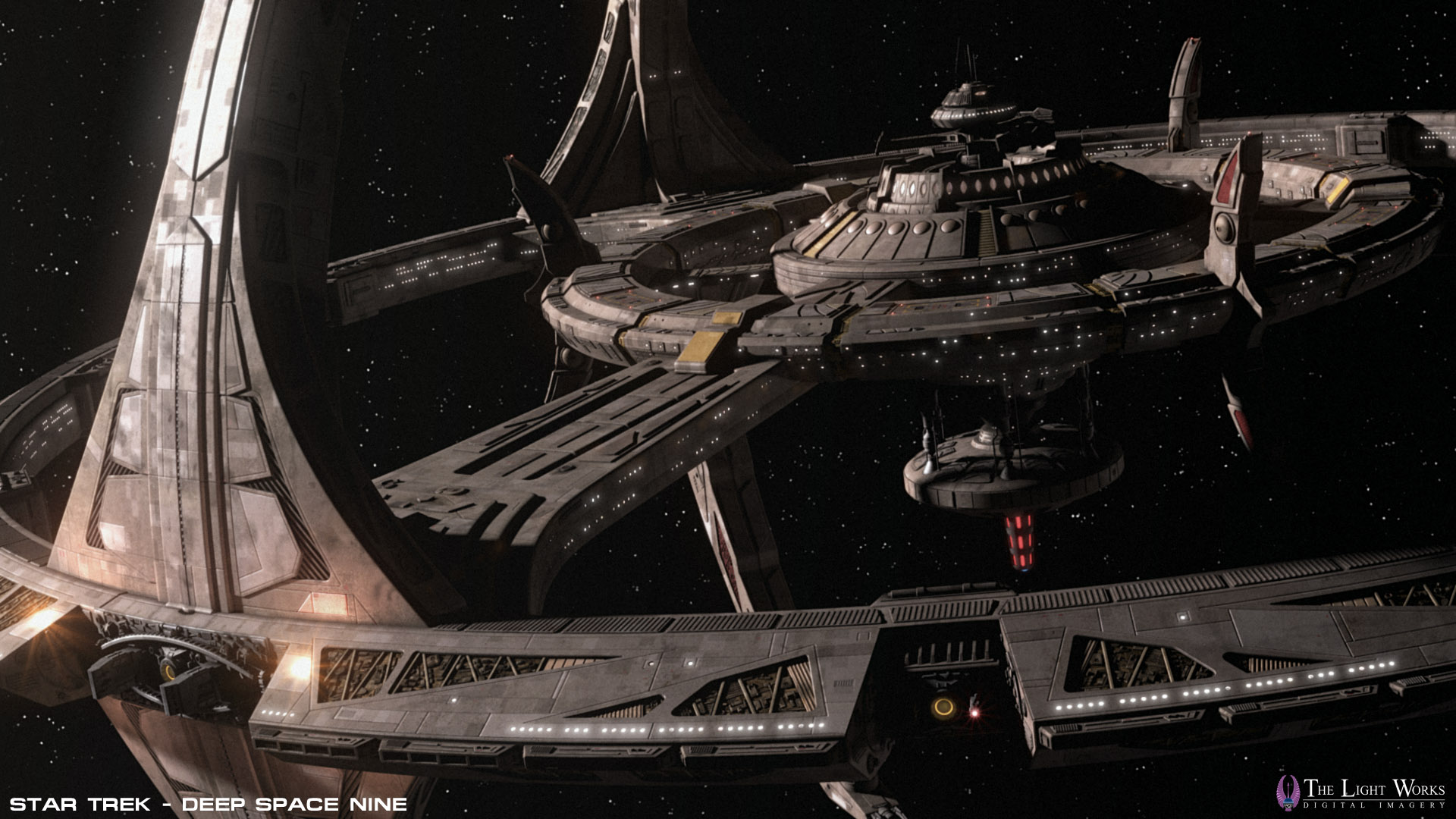 Deep Space Nine Station Wallpaper Wwwthelightworkscomwipds9 1920x1080