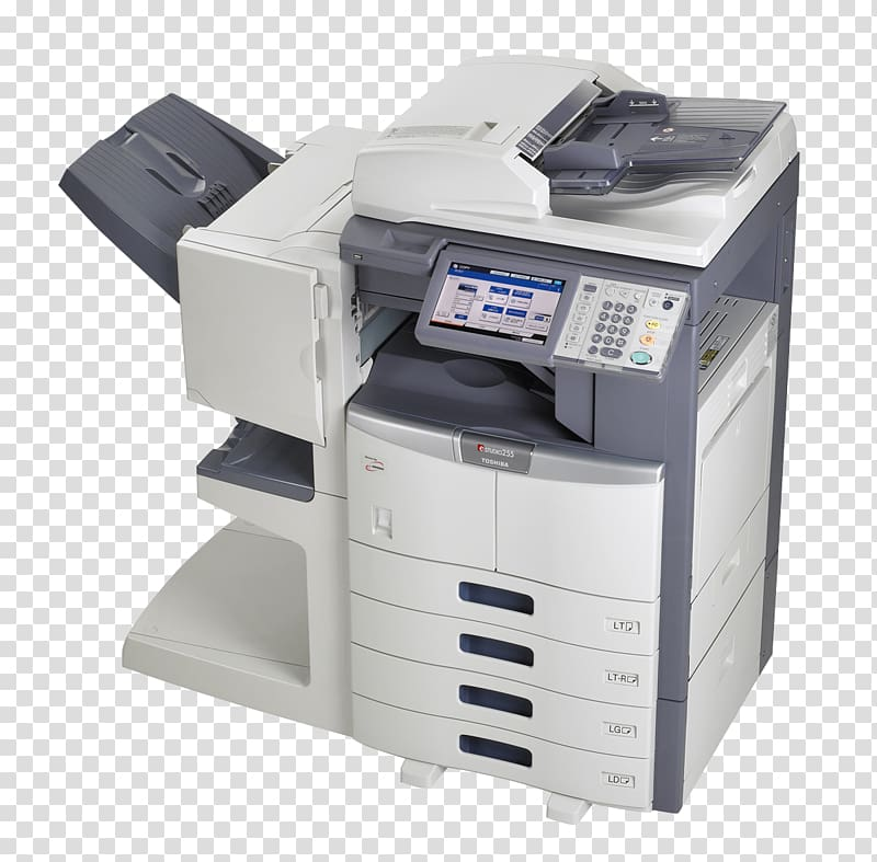 White and gray all in one printer copier Copying Xerox Ricoh 800x787
