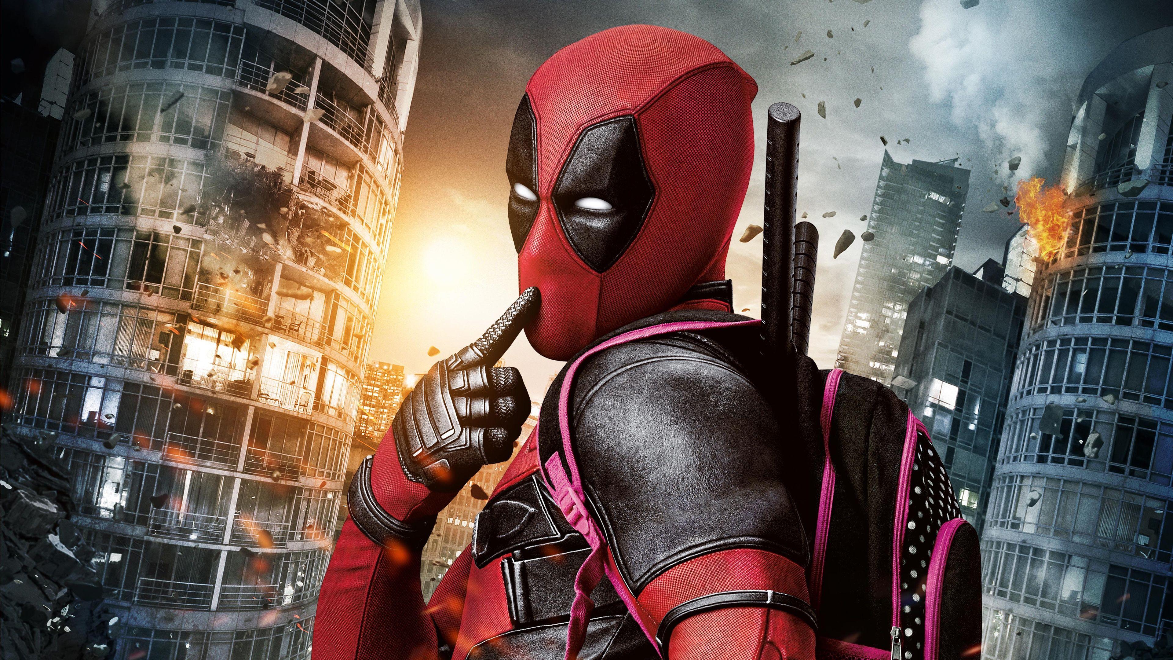 Deadpool Movie Wallpapers   Top Deadpool Movie Backgrounds 3840x2160