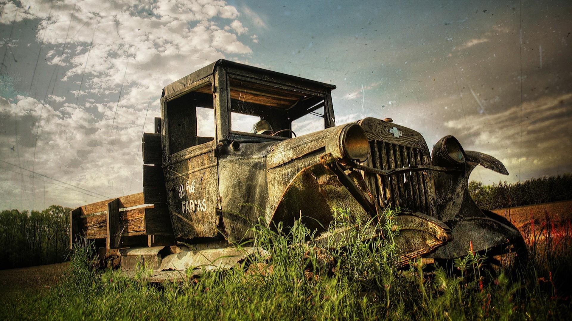 Vintage Trucks Wallpaper 1920x1080 Vintage Trucks Rusty 1920x1080