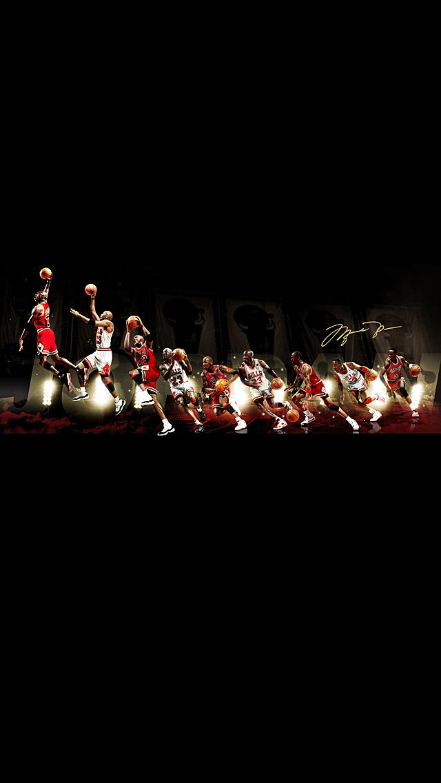 iPhone 5 Wallpaper Sports mj 640x1136