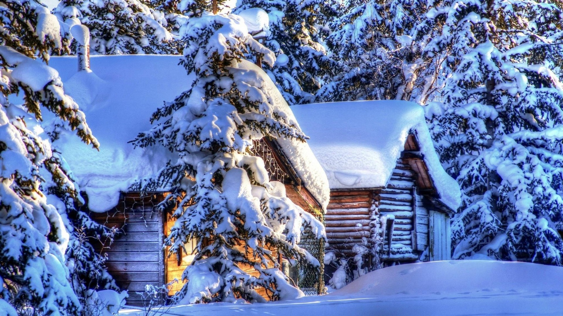 62 Winter Cabin Wallpapers on WallpaperPlay 1920x1080