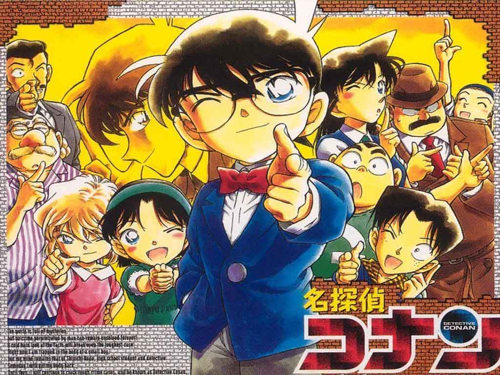 Top Cartoon Wallpapers Detective Conan Wallpaper 1024x768