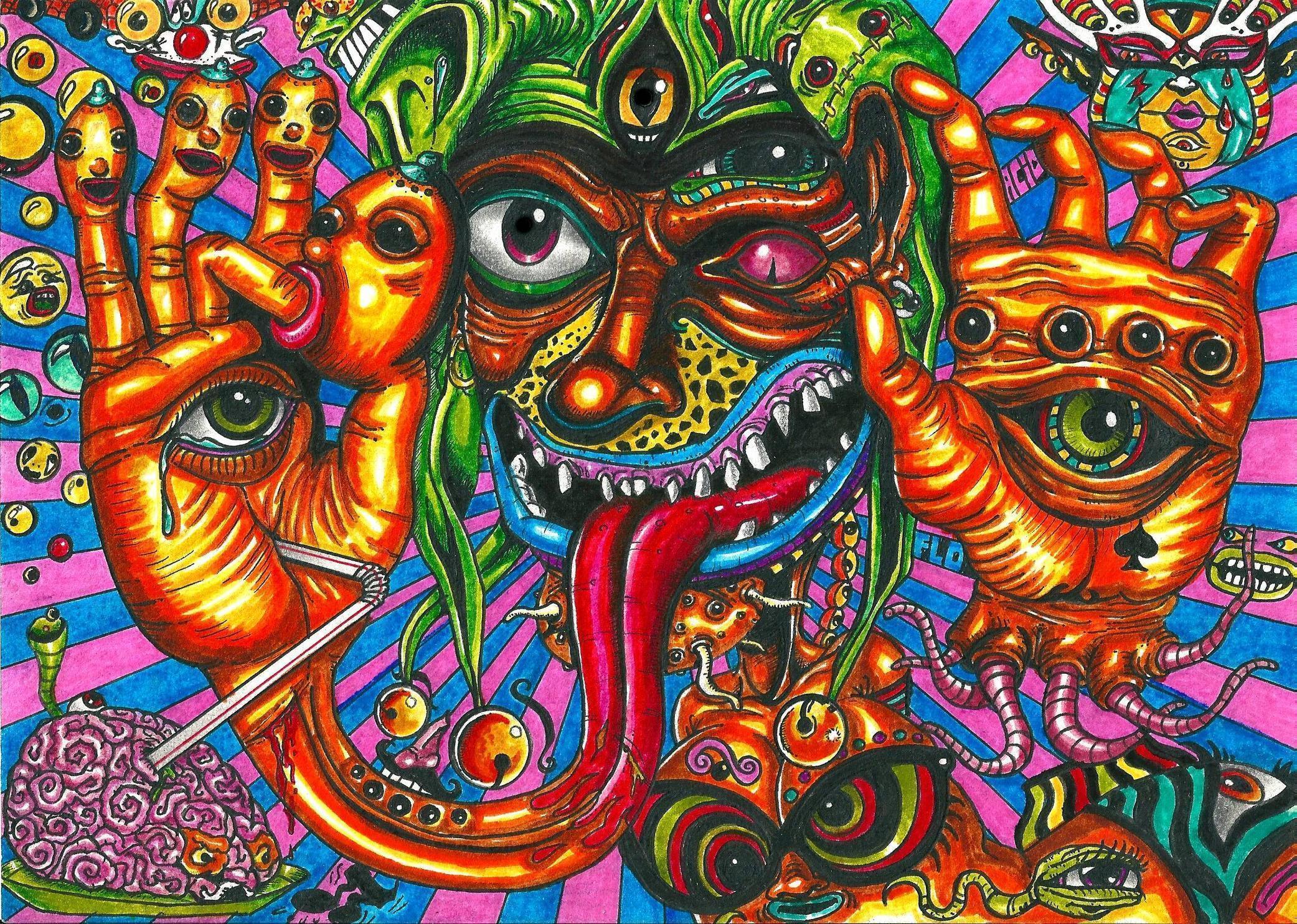 Acid Trip Backgrounds 2083x1485