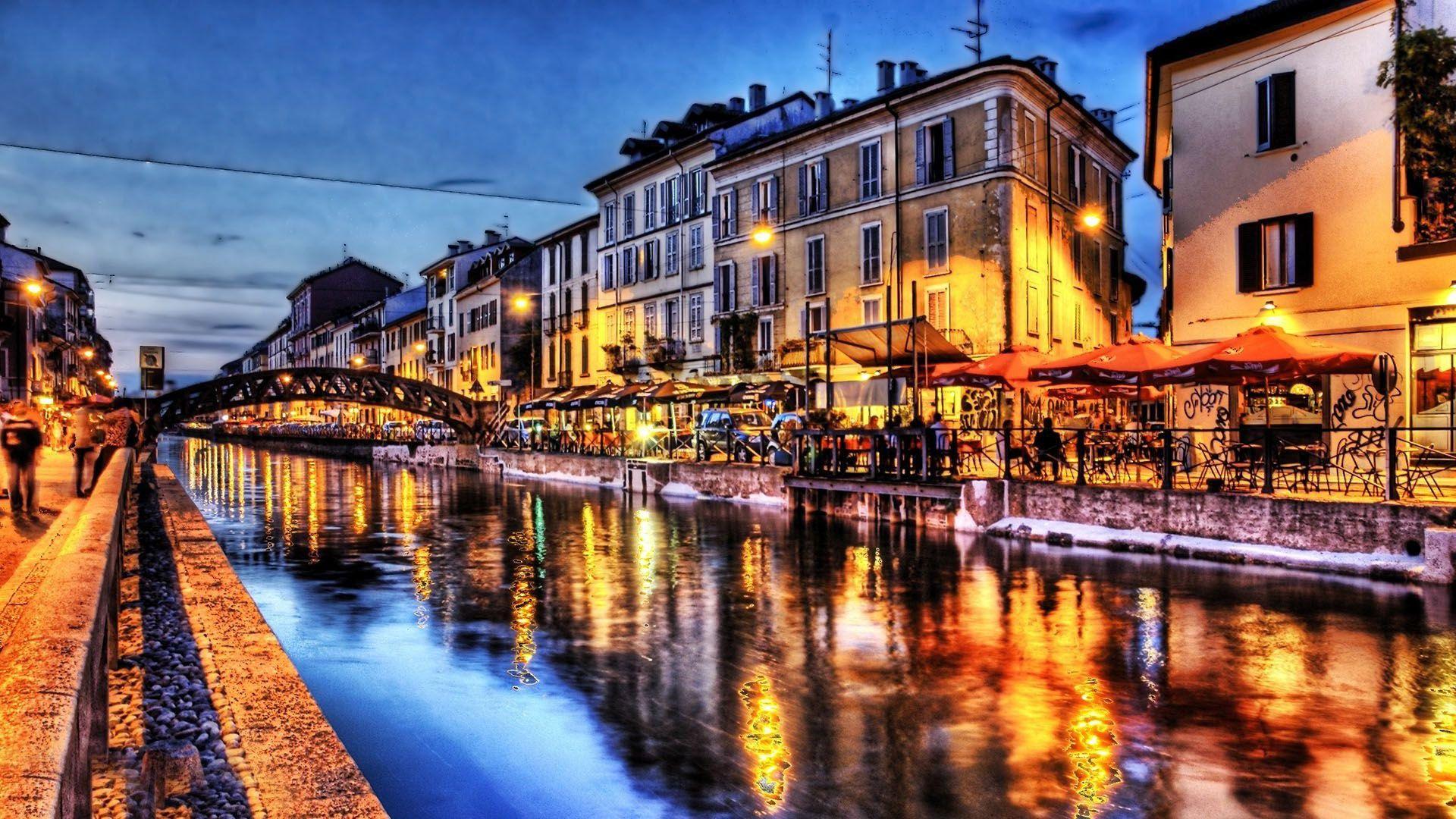 Venice Italy at Night Venice at night wallpaper   304571 Water 1920x1080