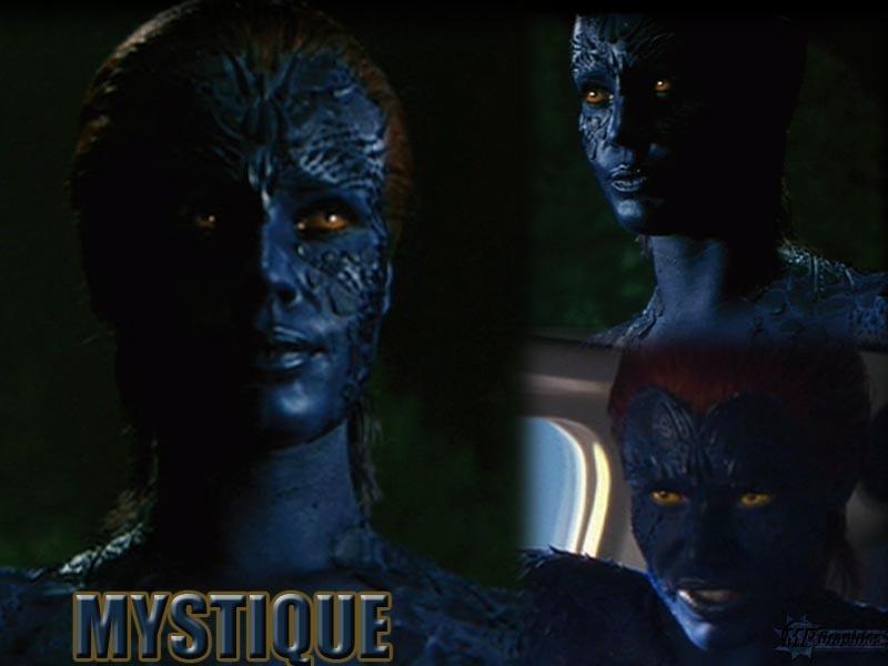 X Men Mystique Human Rebecca Romijn Mystiqu...