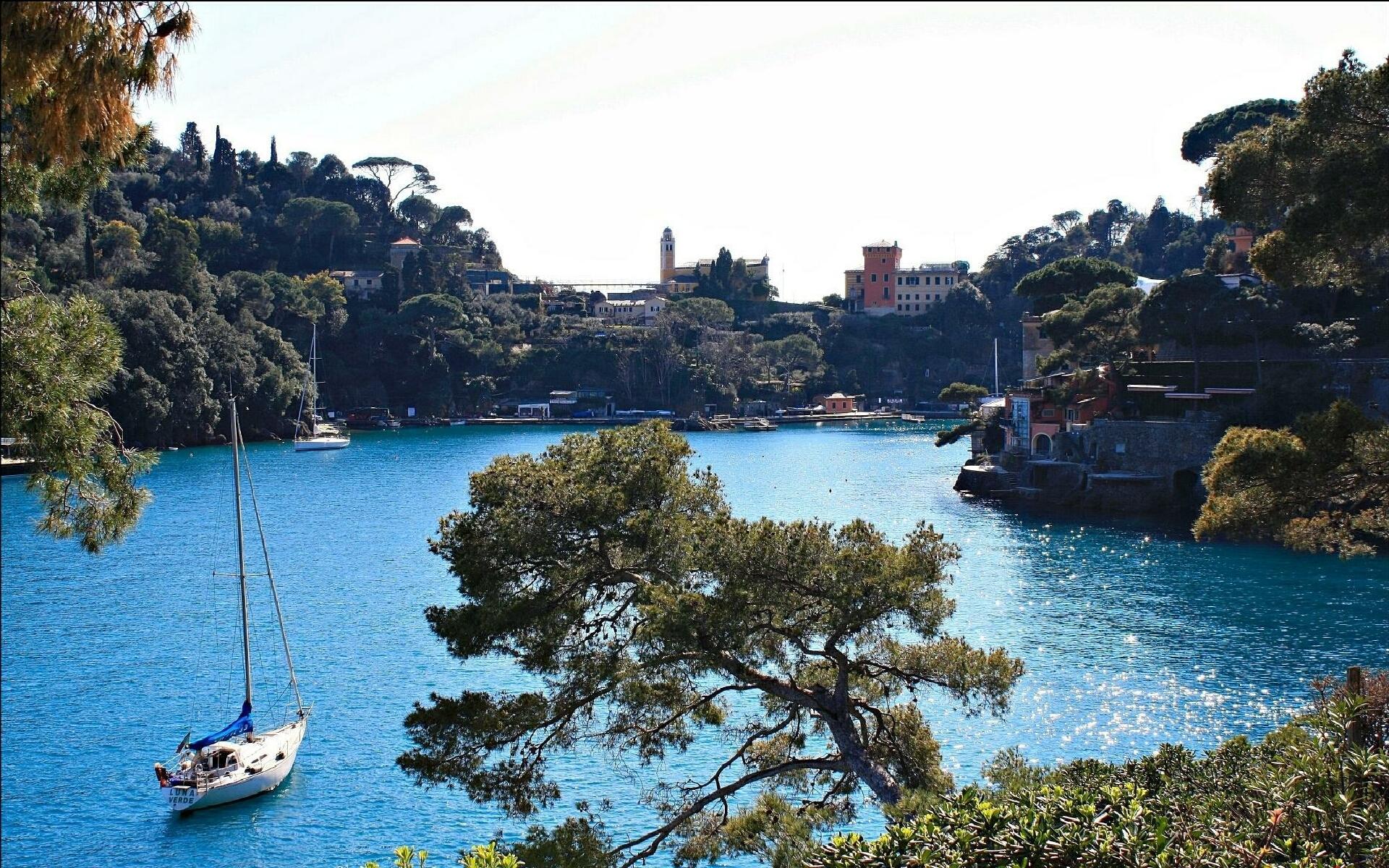 Free Download Portofino Fishing Village Wallpaper Hd Hd