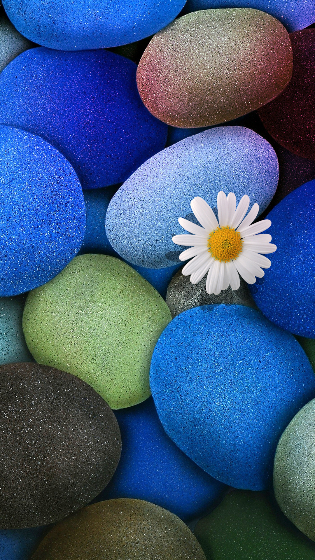 Stone Flower Wallpaper iPhone 6S Plus by DeviantSith17