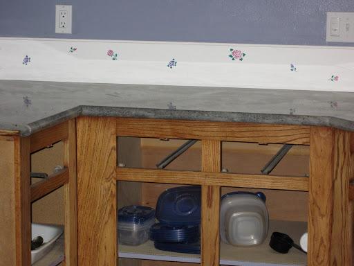 Washable Wallpaper Kitchen Backsplash 512x384
