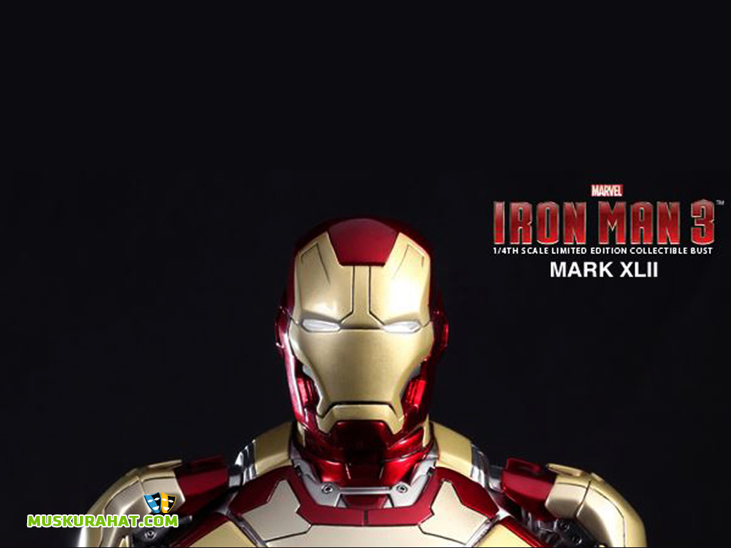 Iron Man 3 Desktop Wallpaper 31708 Movies Wallpapers 1024x768
