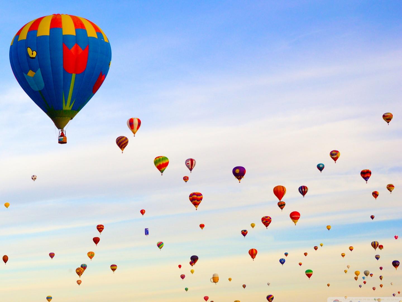 hot air balloon field fullscreen mobile desktop wallpaper download hot 1440x1080