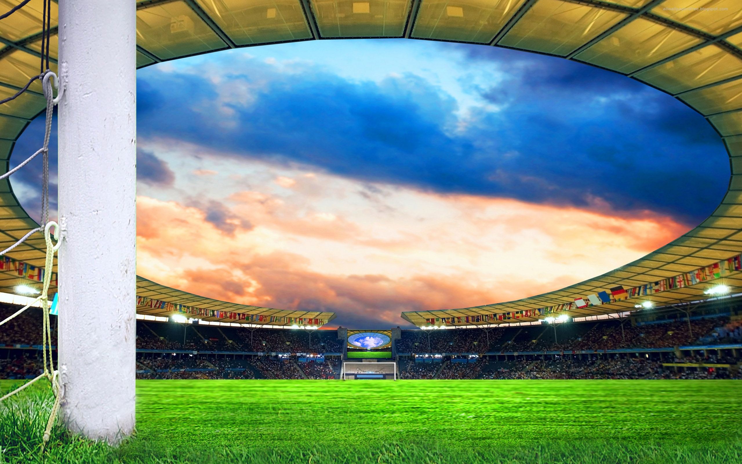 Football field wallpapers Football field stock photos 2560x1600