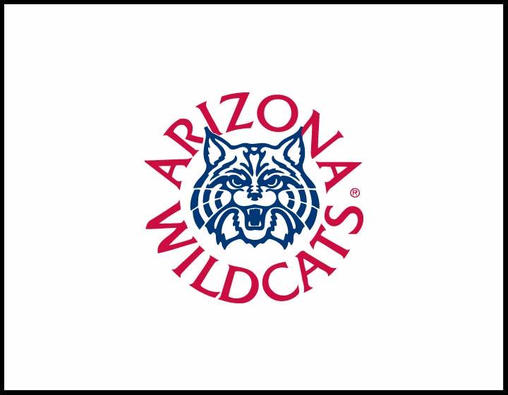 University Of Arizona Wildcats Logo Red blue wildcat logo 720x560