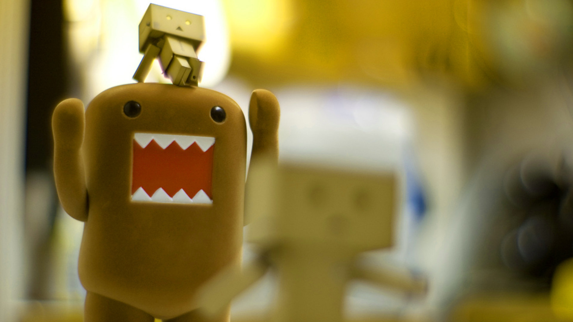 Danbo Domo Wallpaper Cute 11072 Wallpaper Cool Walldiskpaper 1920x1080