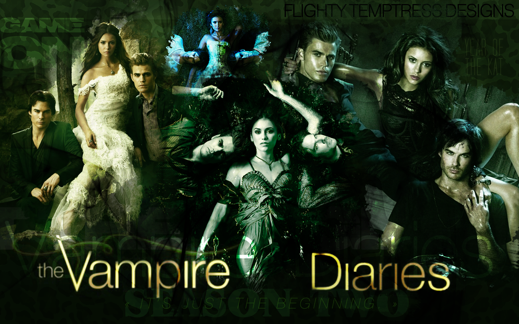 Wallpapers The Vampire Diaries by Alexandreholz on DeviantArt