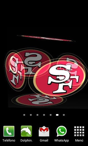 49ers Wallpaper 3d 3d san francisco 49ers lwp app 307x512