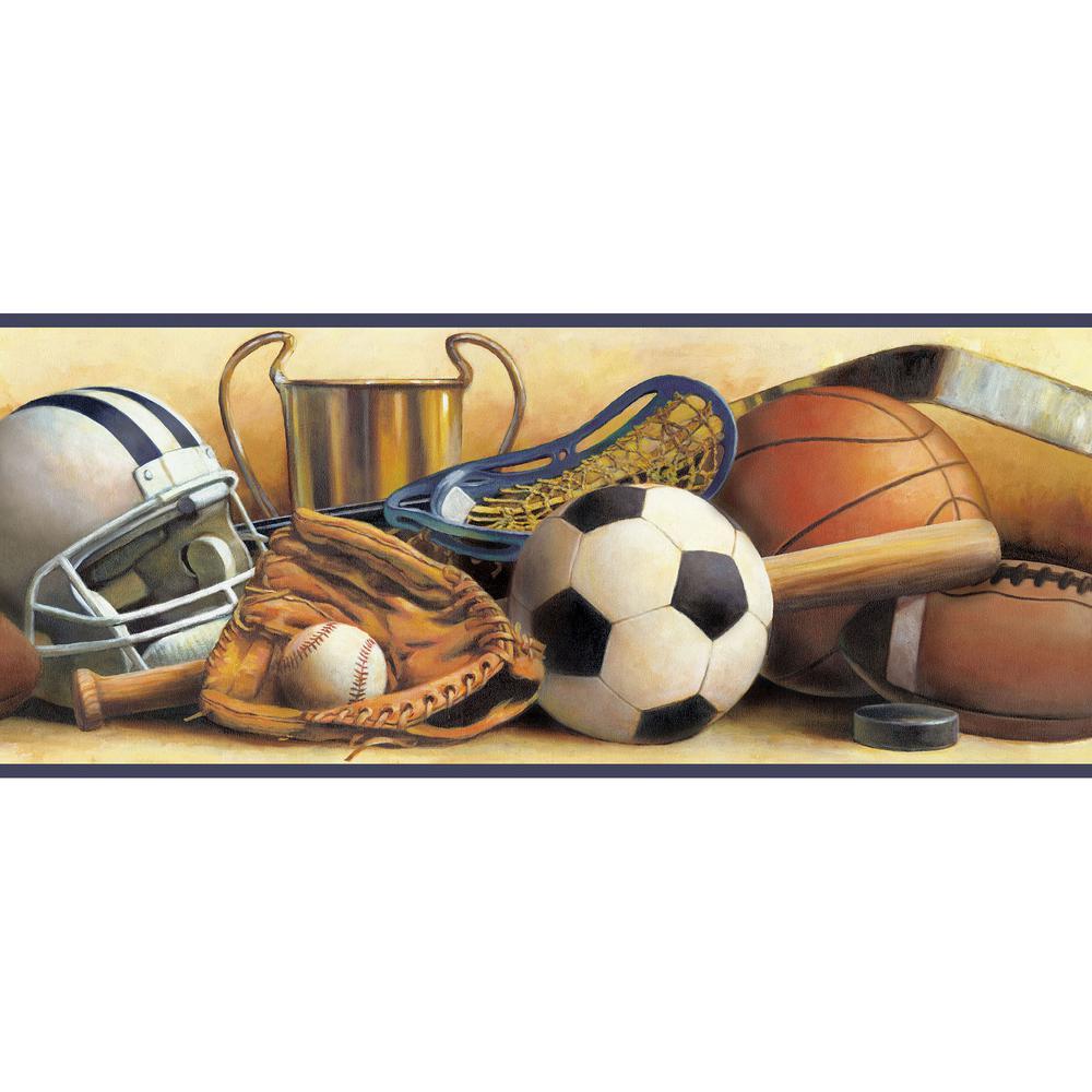 Chesapeake Hansel Sand Classic Sports Portrait Wallpaper Border 1000x1000