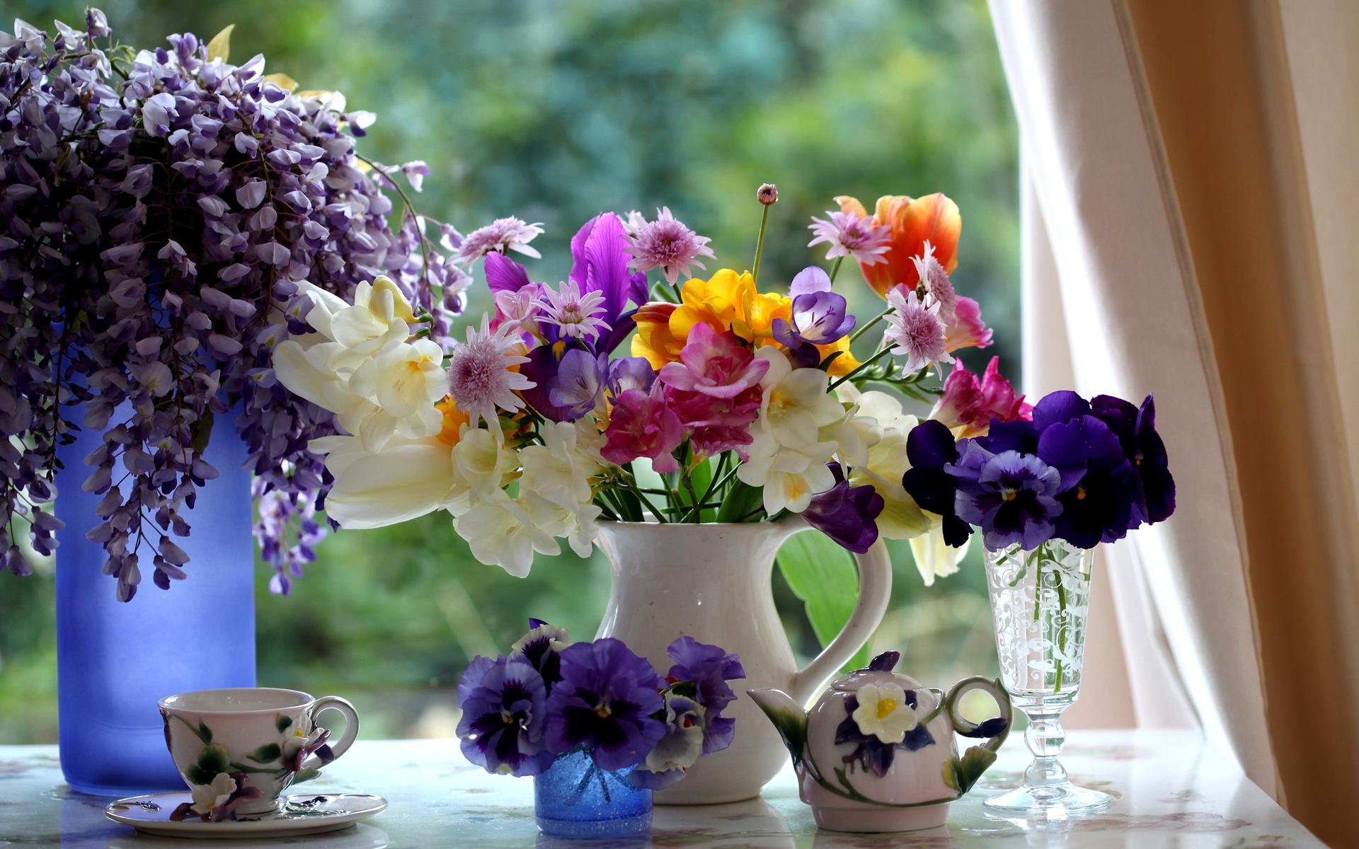 beautiful spring still life by stock photo   Desktop Wallpaper 1920x1200