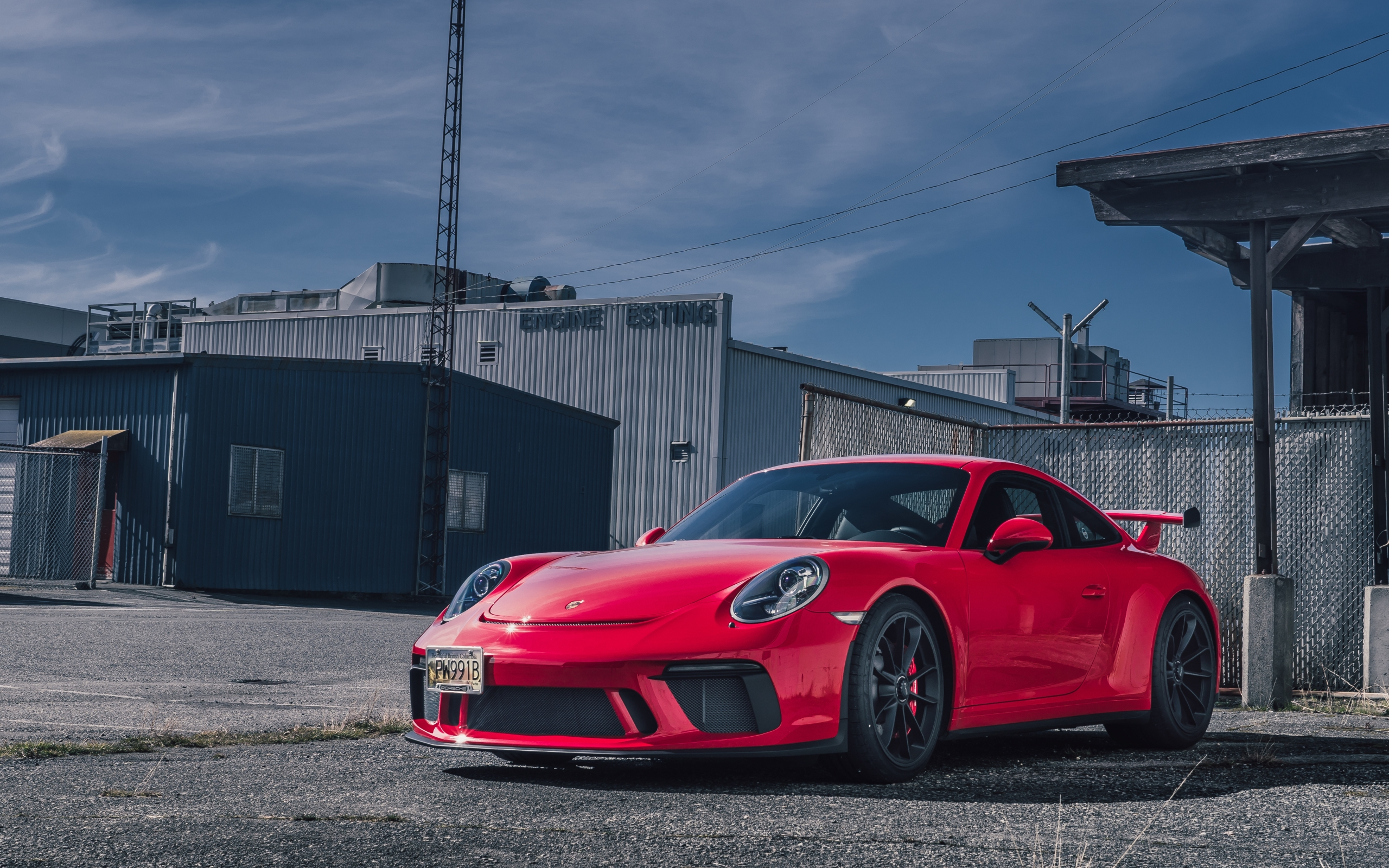 Wallpaper of Car Porsche 911 Porsche 911 GT3 Red Sport Car 2560x1600