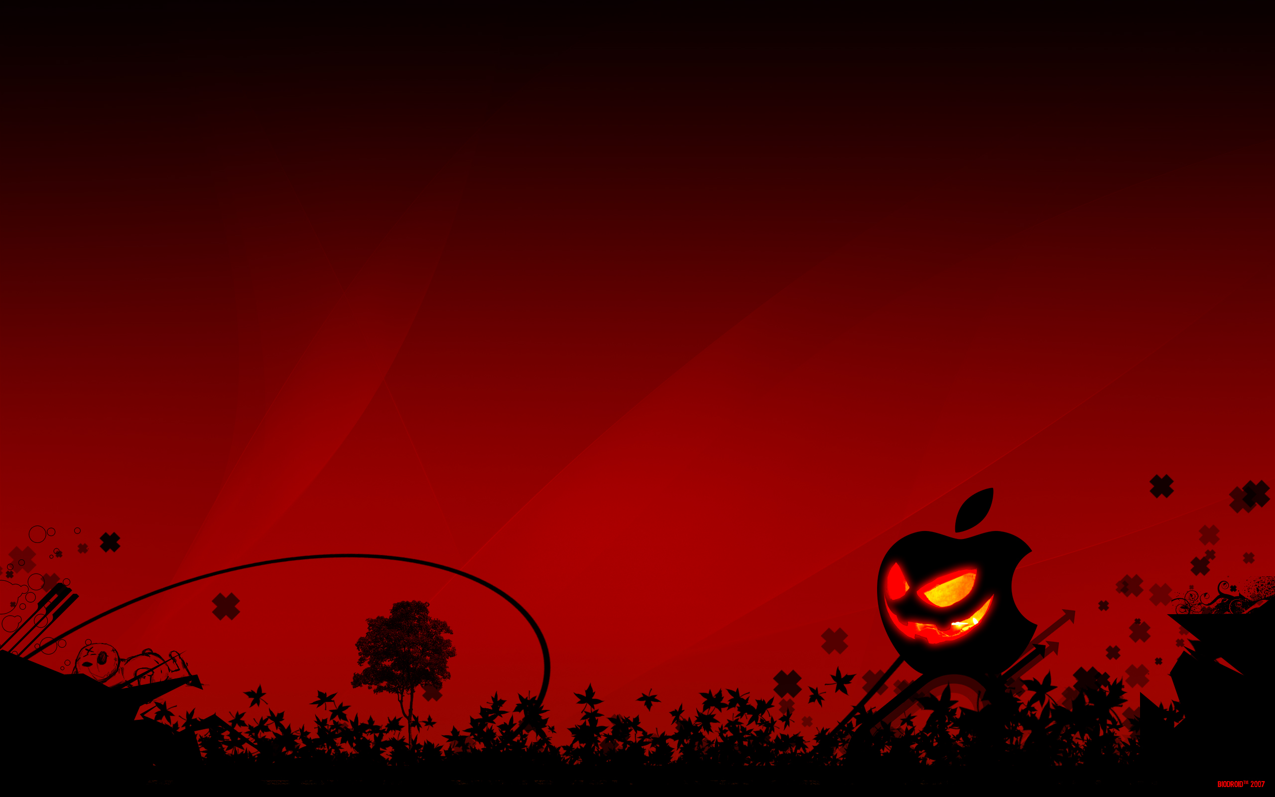 Scary Halloween 2012 HD Wallpapers Pumpkins Witches 2560x1600