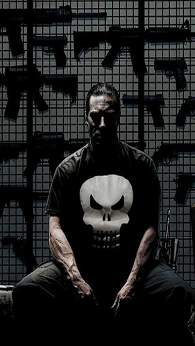 Punisher Wallpaper hd Download hd The Punisher 640x1136