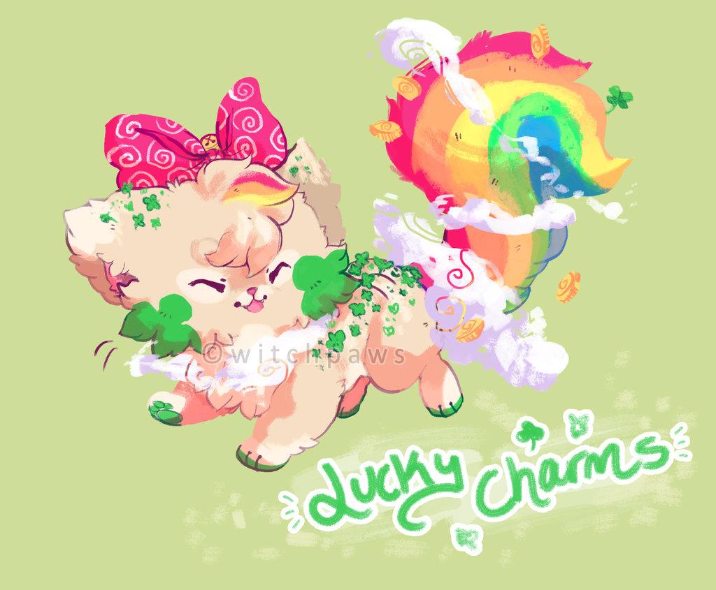 Lucky Charm Wallpaper 1024x845