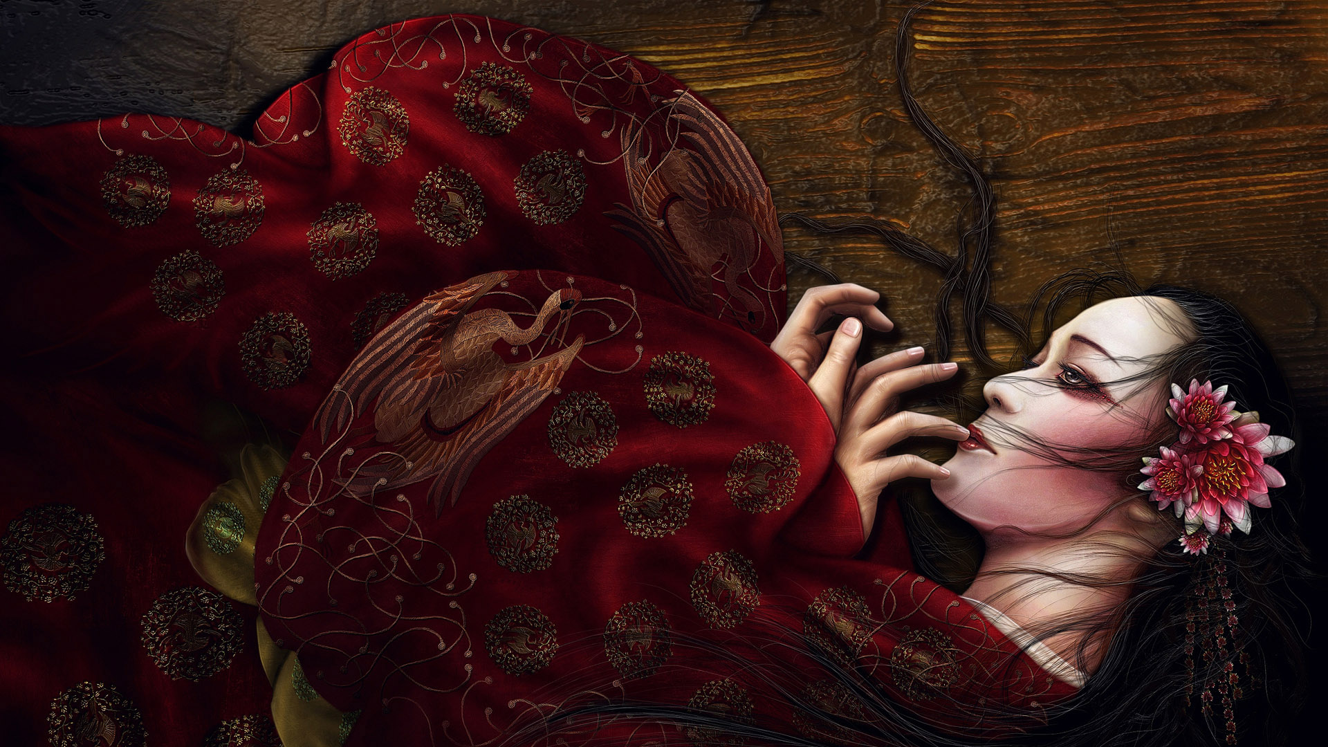 The geisha wallpapers and images   wallpapers pictures photos 1920x1080