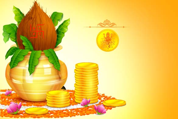 Dhanteras 2015 HD images Pictures Greetings Rajasthan 585x390