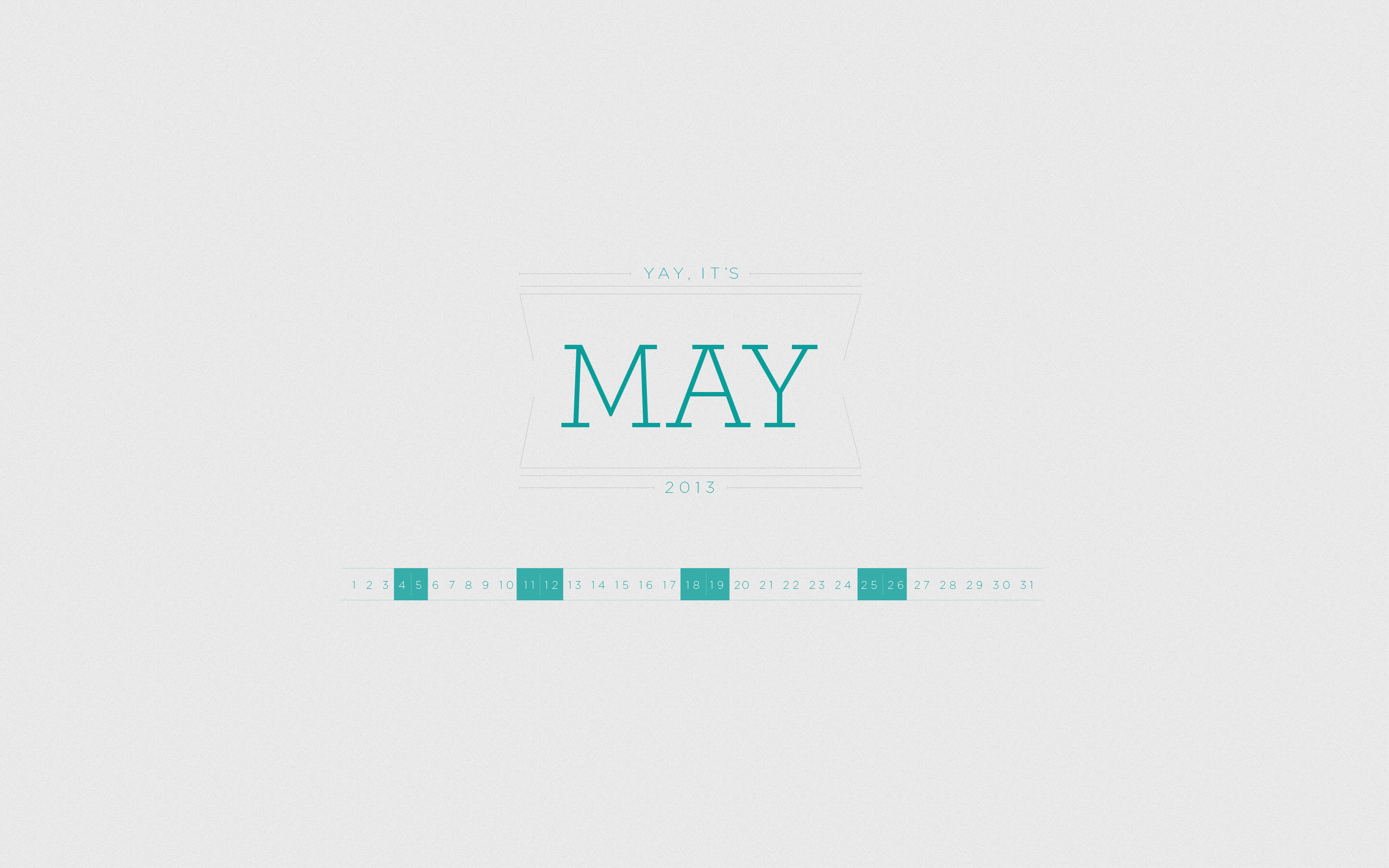 May 2013 Desktop Calendar Wallpaper Paper Leaf 2880x1800